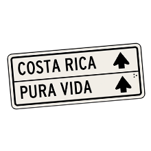 Stickos Costa Rica Pura Vida Sticker