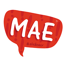 Stickos Mae Sticker